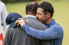 Tiger Woods gets the better of Rory McIlroy in dramatic WGC Match Play showdown