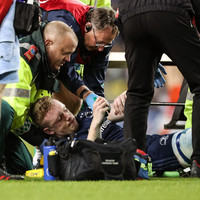 Cruel setback for Leavy as Leinster flanker suffers serious leg injury
