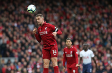 As it happened: Liverpool vs Tottenham, Premier League
