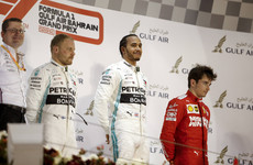 Hamilton wins Bahrain Grand Prix after Leclerc heartbreak