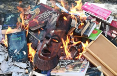 Catholic priests in Poland burn Harry Potter and Twilight books