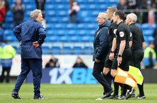 Warnock claims wife wouldn't have stopped him if he wanted 'to thump referee' after Chelsea defeat