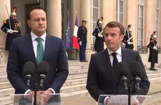 Emmanuel Macron: 'We will never abandon Ireland or the Irish people, no matter what'