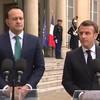 Emmanuel Macron: 'We will never abandon Ireland or the Irish people, no matter what'