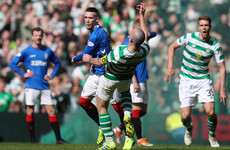 Rangers winger charged over Old Firm clash with Scott Brown