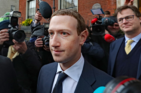 Mark Zuckerberg in Dublin today