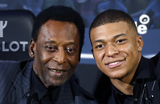 'You can reach 1,000 goals too', Brazil legend Pele tells PSG's rising star Mbappe