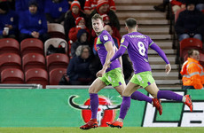 Bristol City back in Championship play-off places following narrow victory over Middlesbrough
