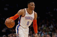 3dae594f787 Westbrook becomes second player ever to record 20 20 20 game