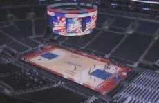 Watch this cool time-lapse video of LA's Staples Centre play-off transformation