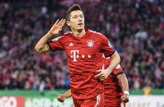 Lewandowski saves Bayern from cup humiliation against second-tier side in nine-goal thriller
