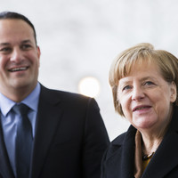 Merkel vows to 'fight until the last hour' to avoid no-deal Brexit ahead of Varadkar meeting