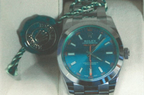The Rolex watch in question