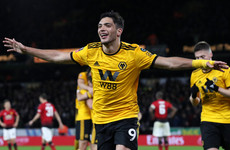 Wolves smash transfer record to sign Mexican striker Jimenez on permanent deal