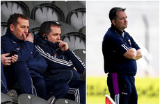 First-half in the stands, second-half on the sideline: Davy Fitz's game-day routine