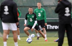 In pictures: Ireland squad's first full training session