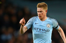 Kevin De Bruyne: England should win Euro 2020