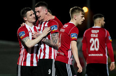 Parkhouse's late double hands Derry dramatic derby victory in Ballybofey