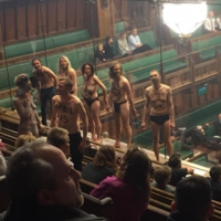 How many semi-naked protestors stormed the House of Commons? It's the week in numbers