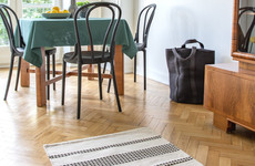 Fabric fix: 6 rugs that'll add colour and warmth to your wooden floors