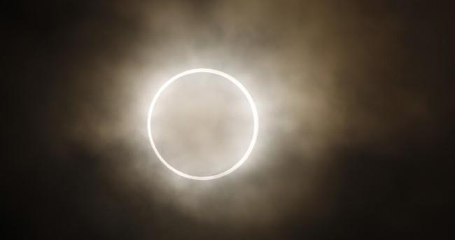 PHOTOS: Last night's annular eclipse as seen around the world
