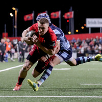 Six-try Munster secure Pro14 play-off with big win over Cardiff in Cork