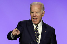 'He gave me permission': Joe Biden jokes about hugging in first speech since new accusations