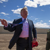 'Our country is full' - Trump visits Mexico border and inspects new border fence