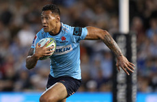 Australia star Folau breaks Super Rugby all-time try record