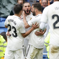 Relief for Zidane as Real Madrid survive Eibar scare