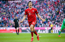 Lewandowski the star as Bayern annihilate Dortmund to go top of the Bundesliga