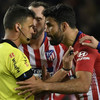 Diego Costa sent off after half an hour against Barcelona following furious referee rant