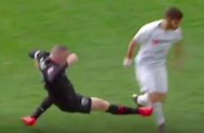 Rooney sent off for nasty tackle as DC United suffer heavy MLS defeat