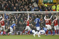 Arsenal's top four hopes dealt blow in surprise Everton defeat