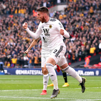 Ireland defender Matt Doherty breaks the deadlock at Wembley in FA Cup semi-final