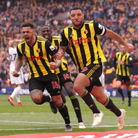 Deeney's 94th-minute penalty and Deulofeu double help Watford reach FA Cup final for first time in 35 years
