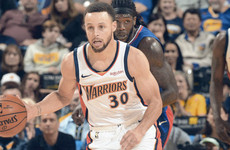 Warriors clinch west's top seed in blast from the past at Oracle Arena