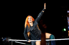 Ireland's Becky Lynch crowned champion at Wrestlemania