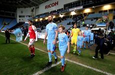 Meyler a doubt for June qualifiers after suffering dislocated shoulder