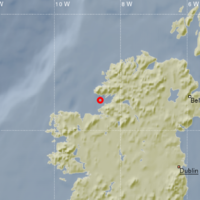 Donegal struck by 2.4 magnitude earthquake overnight