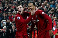 Liverpool will miss 'best left-back in England' Robertson against Porto - Van Dijk