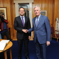 EU will 'stand fully behind Ireland' whatever happens with Brexit, Barnier says