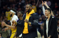 LeBron defends Walton record amid job speculation
