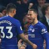Magnificent Hazard double sends Chelsea third in the Premier League