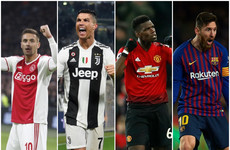 Poll: Who do you expect to reach the last four ahead of tonight's Champions League quarter-final first legs?