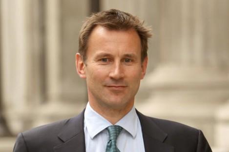 Britain's culture secretary Jeremy Hunt.