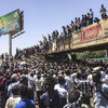 Thousands of Sudan protesters have spent days camped outside army headquarters