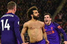 Salah played 'some of his best football for Liverpool' during goal drought - Henderson