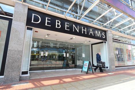 The Belfast branch of Debenhams.