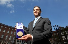Rob Kearney named European Rugby Player of the Year
